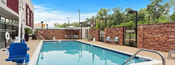 Springhill Suite Outdoor Pool